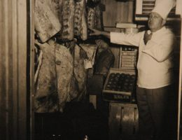 Buell Warren, former Stockyards chef, circa 1954