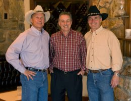 Gary Smith, Gary Lasko and Mike Smith, owners of The Stockyards