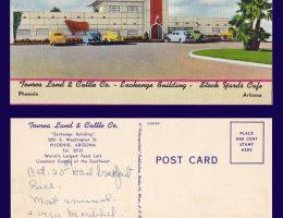 Stockyards Post Card