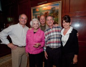 Mike and Gary Smith, Gary Lasko and Janet Wortmann honoring Sandra Day O'Connor at the Celebrating Arizona's Influencers event in November 2010.
